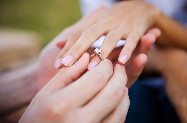 What is the price of a diamond wedding ring?
