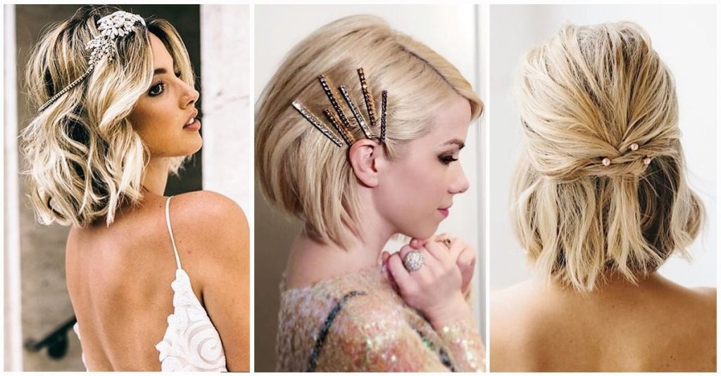 Here are the ideal hairstyles for brides and bridesmaids